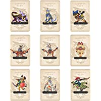 9 PCs Monster Rise NFC Cards for Hunter NS Switch/Lite/Wii U with Case