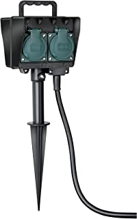 Resistente al Aceite Brennenstuhl 1169900 Bremaxx Uso Corto en Exteriores hasta-35/°C 25m Cable alargador de Corriente negro