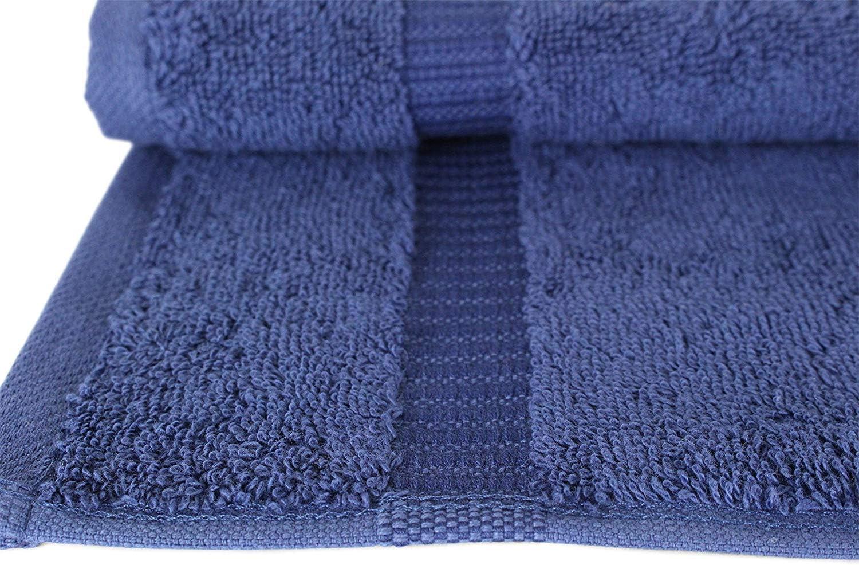 TEXMAXX Handt/ücher Set Kollektion 12er G/ästehandt/ücher Set 33 cm x 33 cm in Taupe 100/% Baumwolle 700g//m/²