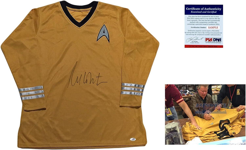 Captain Kirk Star Trek Autographed PSA//DNA Wililam Shatner Signed Uniform Shirt