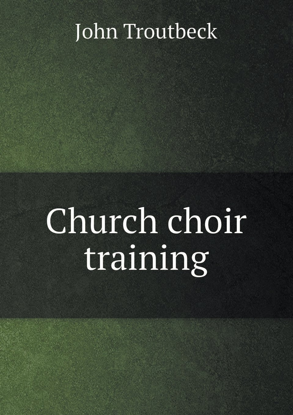 Church choir training ePub fb2 ebook