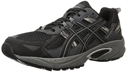 ASICS Men's Gel Venture 5 Running Shoe, Black/Onyx/Charcoal, 7 M US