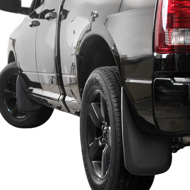 2010-2018 Ram 2500//3500 Splash Mud Flaps Guards Front /& Rear 4 Piece Set Powerworks Auto Premium Heavy Duty Molded Compatible with 2009-2018 Dodge Ram 1500