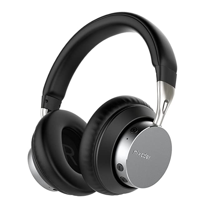 4 opinioni per Mixcder MS301 Bluetooth 4.2 Cuffie stereo con Microfono incorporato,