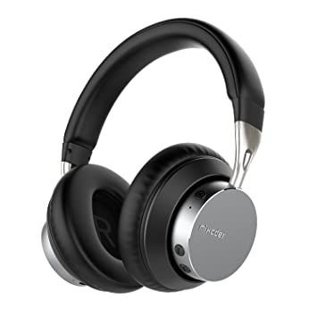 MIXCDER MS301 – Wireless & Wired Auriculares con micrófono, Bluetooth V4.2 Bass Auriculares