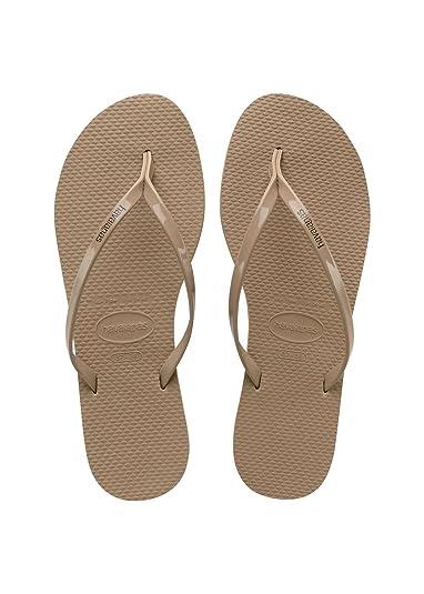 76a4b0acc05b7f Havaianas You Metallic Women s Flip Flops  Amazon.co.uk  Shoes   Bags