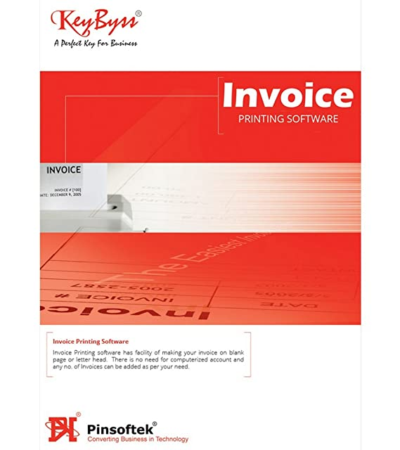 KeyByss Invoice Printing Software GST Ready Users CD Amazonin - Invoice printing software