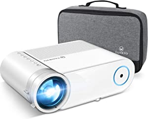 """VANKYO Leisure 460 Mini 4200LUX Projector, 1080P and 200"""" Display Supported, Portable Projector Compatible w/ TV Stick, PS4, HDMI, Laptop, iPhone, Android, Ideal for Home Theater/Outdoor"""