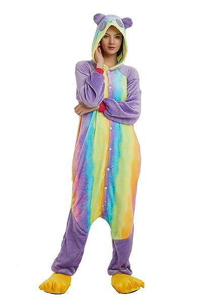 6c69786f Woneart Disfraces Pijama Unicornio Animales Adultos Traje Disfraz ...