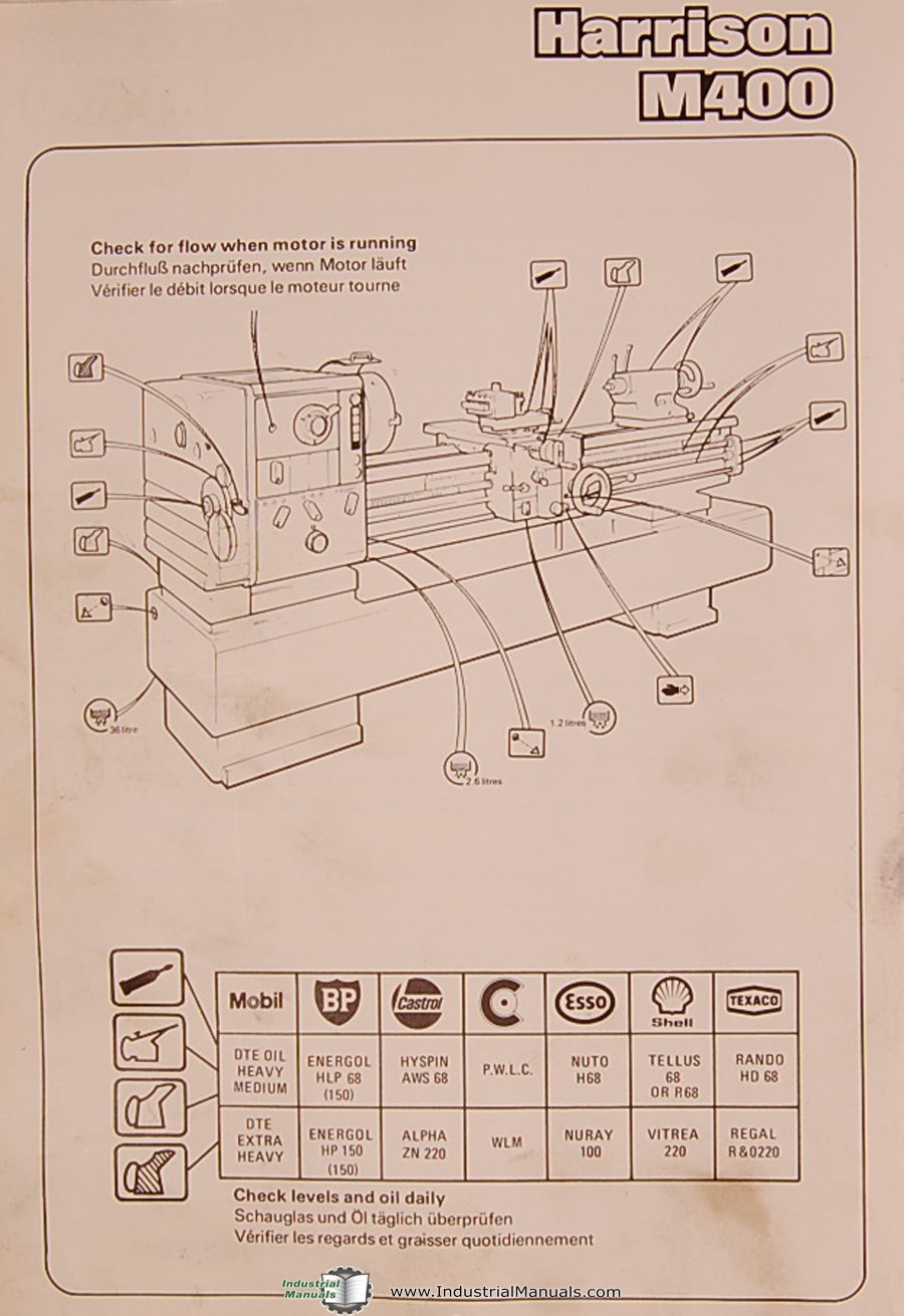 M400 Wiring Diagram List Of Schematic Circuit Cat C13 Harrison 420mm Centre Lathe Operations Parts Electrical Rh Amazon Com Emerson Noble
