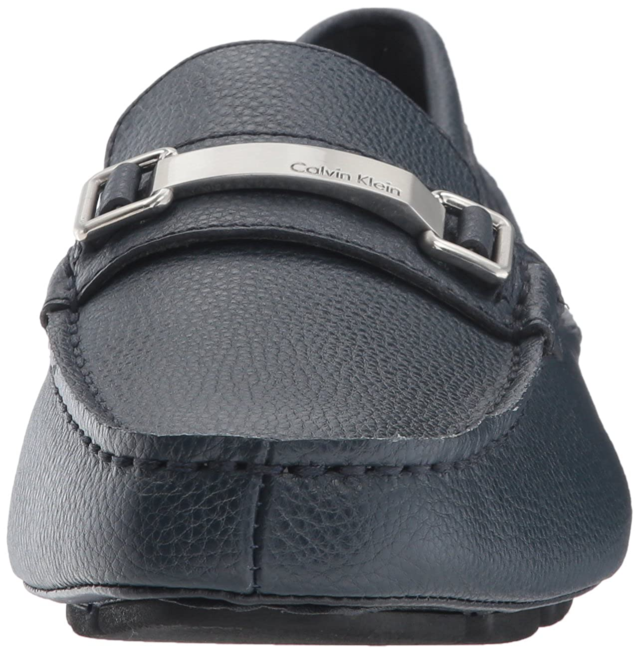 Amazon.com | Calvin Klein Mens Mikos Tumbled Leather Loafer | Loafers & Slip-Ons