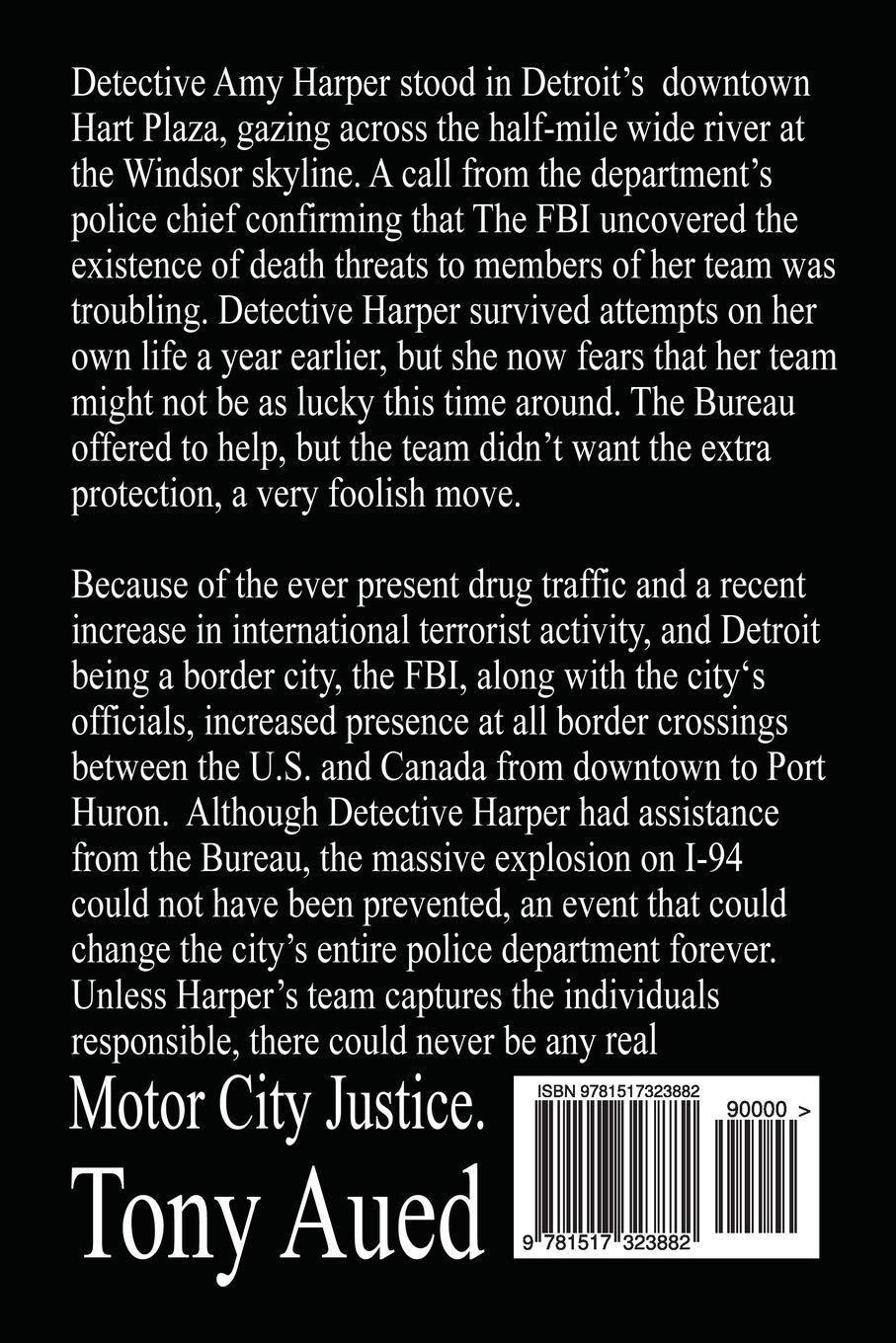 Motor City Justice (Murder in Greektown) (Volume 3): Tony ...