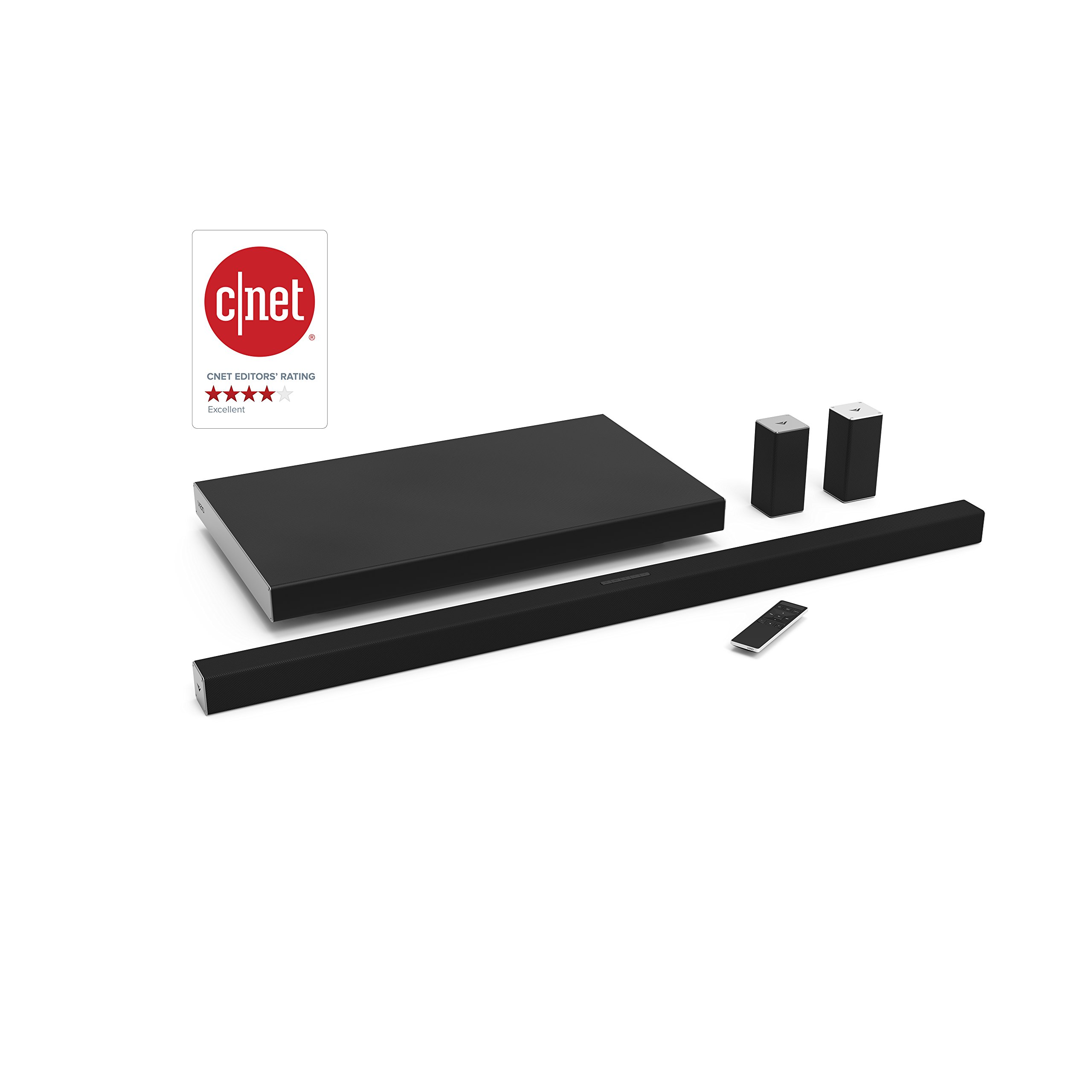 "VIZIO SB4551-D5 Smartcast 45"" 5.1 Slim Sound Bar System by VIZIO"