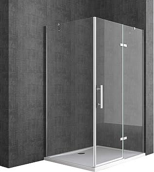 TBH: 90 x 100 x 195 cm Diseño Mampara de ducha ravenna28 K, de ...