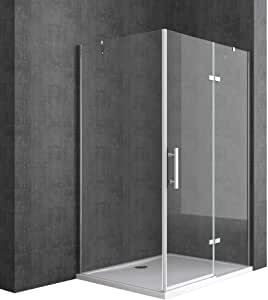 TBH: 75 x 100 x 195 cm Diseño Mampara de ducha ravenna28, de ...