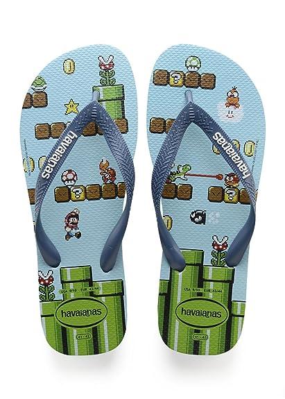 743ced35a76e Havaianas Unisex Kids  Mario Bros Flip Flops  Amazon.co.uk  Shoes   Bags