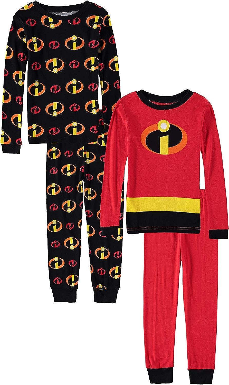 Members Mark Toddler Girls Size 2T Snug Fit Cotton 2-Pack Pajama Set Multi