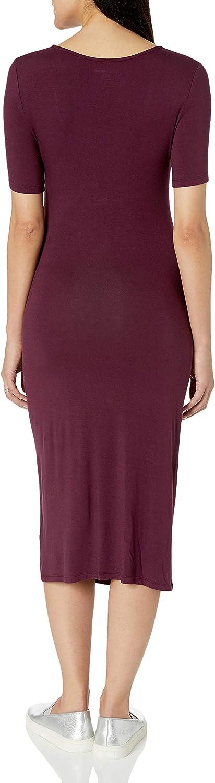 Essentials Womens Maternity Short-Sleeve Dress Dress