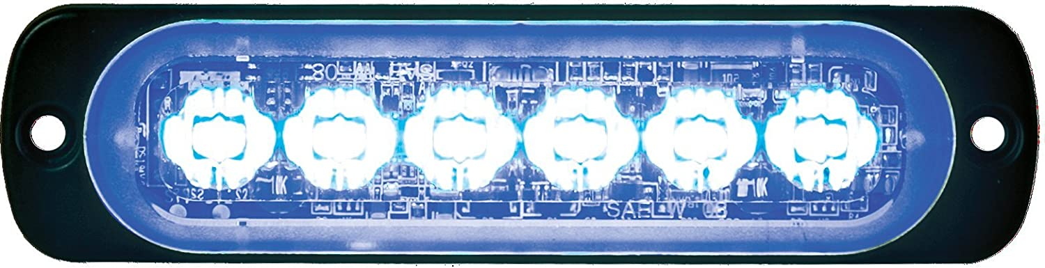 Buyers Products 8891901 Clear Horizontal LED Strobe Light