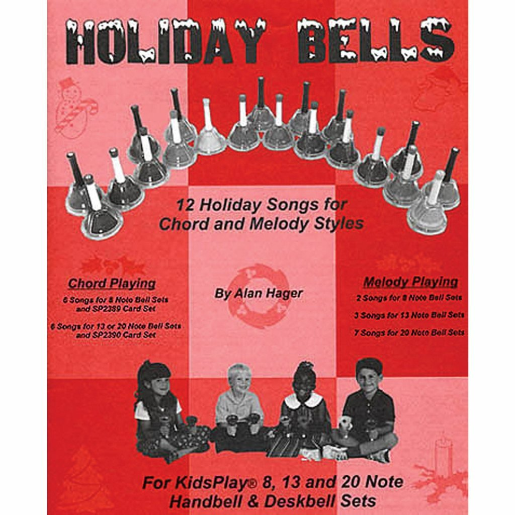 Hager Holiday Bells Christmas Song Book (12 Songs; All Ages) by Westco