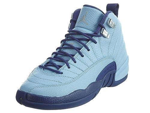 Nike 510815-418, Zapatillas de Baloncesto para Mujer, Azul (Bluecap/Metallic Silver/Dk Purple Dust), 41.5 EU: Amazon.es: Zapatos y complementos