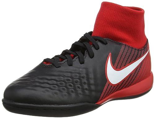 half off 4c853 dbd72 Nike Jr Magistax Onda II DF IC, Botas de fútbol Unisex Niños  Amazon.es   Zapatos y complementos