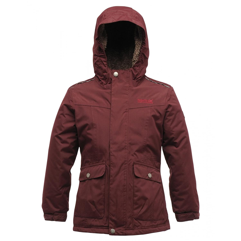 61b28174d Regatta Kids Childrens Girls Akela Waterproof Windproof Hooded Jacket