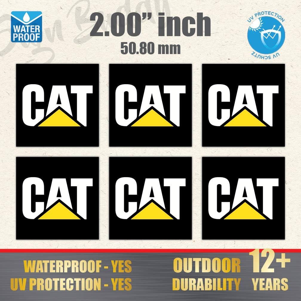 100 /% genuine Caterpillar Vinyl Cut Decal Sticker Truck,Car 0110671