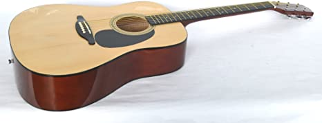 SX guitarra acústica WESTERN DG150 alto brillo acabado ...