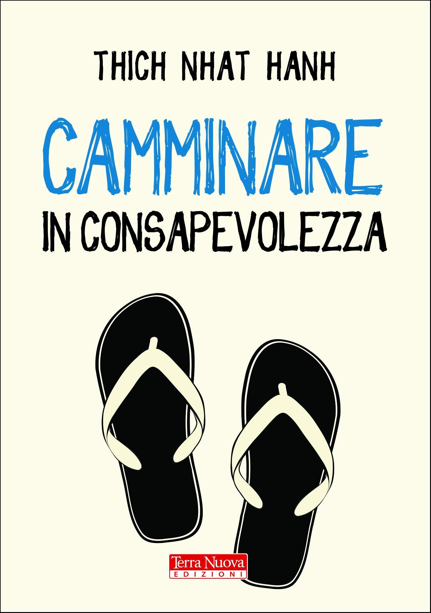Copertina Libro Camminare in consapevolezza