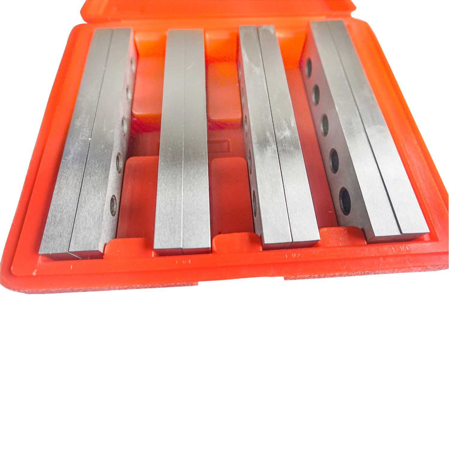 HFS (R) 4 pair 1/2'' STEEL PARALLEL SET 10 PAIR PARALLELS .0002'' HARDENED NEW by HFS (Image #1)