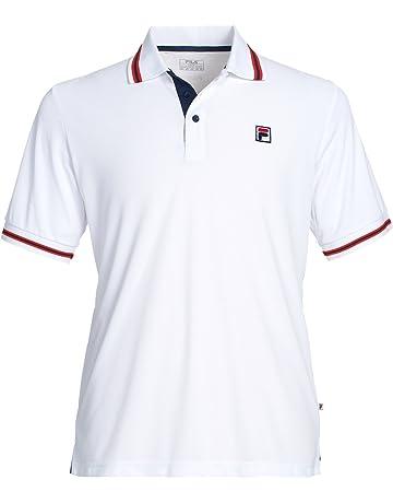 Fila Tony Polo Uomo Bianco Sports Abbigliamento Sportivo T