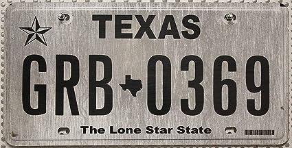 Amazon.es: Estados Unidos Matrícula Texas # US Matrícula The Lone ...