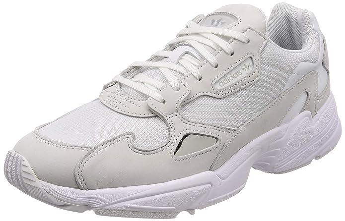 Amazon.com | adidas Originals Falcon Womens Shoes 10.5 B(M) US Women / 9.5 D(M) US FTWR White FTWR White Crystal White | Fashion Sneakers