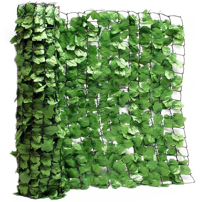 Wiltec Sichtschutznetz Blatteroptik 300cm X 150cm Mauerabdeckung
