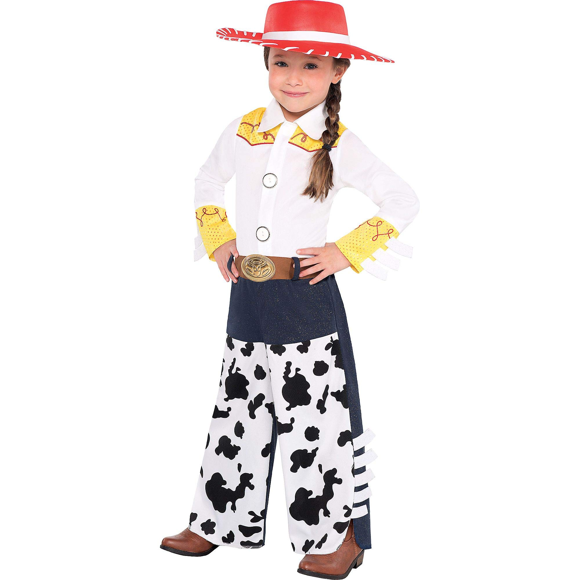 Suit Yourself Jessie Halloween Costume for Toddler Girls, Toy Story, 3-4T, Includes Accessories