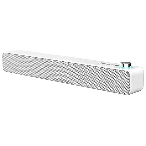 LENRUE Barra de Sonido Altavoces Bluetooth 10 W Sonido Envolvente ...