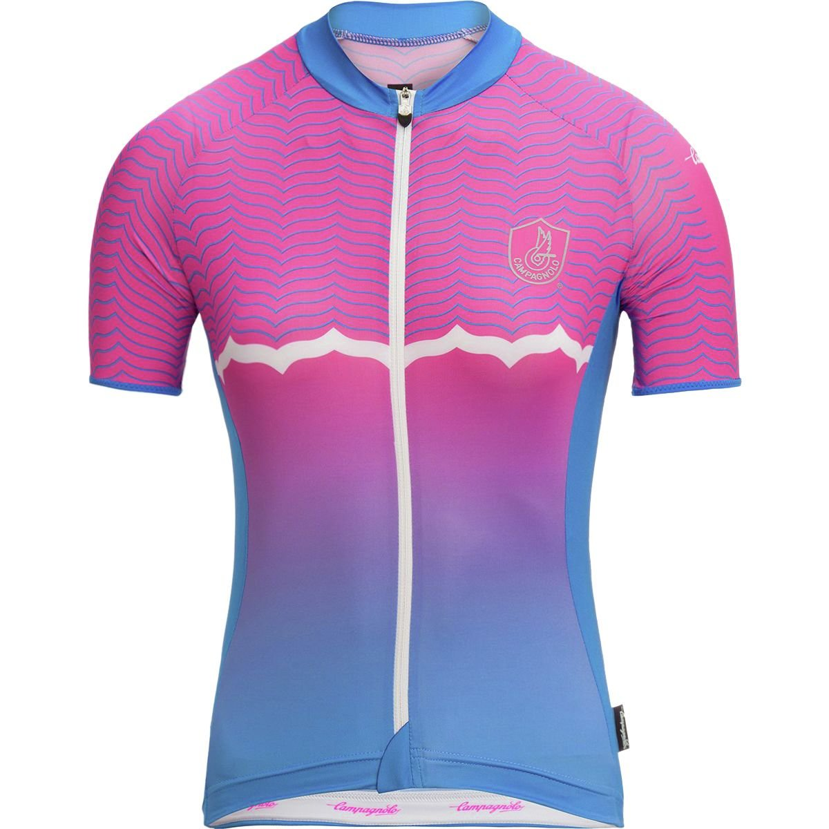 Campagnolo Quarzo Jersey – Women 's B07F2G3923  ブルー Large