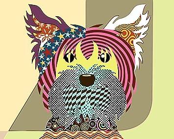 wqavten Pintar por números Perros para Colorear imágenes