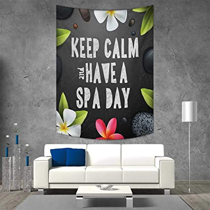Smallbeefly Zen Home Decorations Living Room Bedroom Keep Calm Have A Spa Day Quote Healthcare Beauty