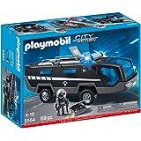 Lego city 60004 jeu de construction la caserne des pompiers jeux et jouets - Caserne de police playmobil ...