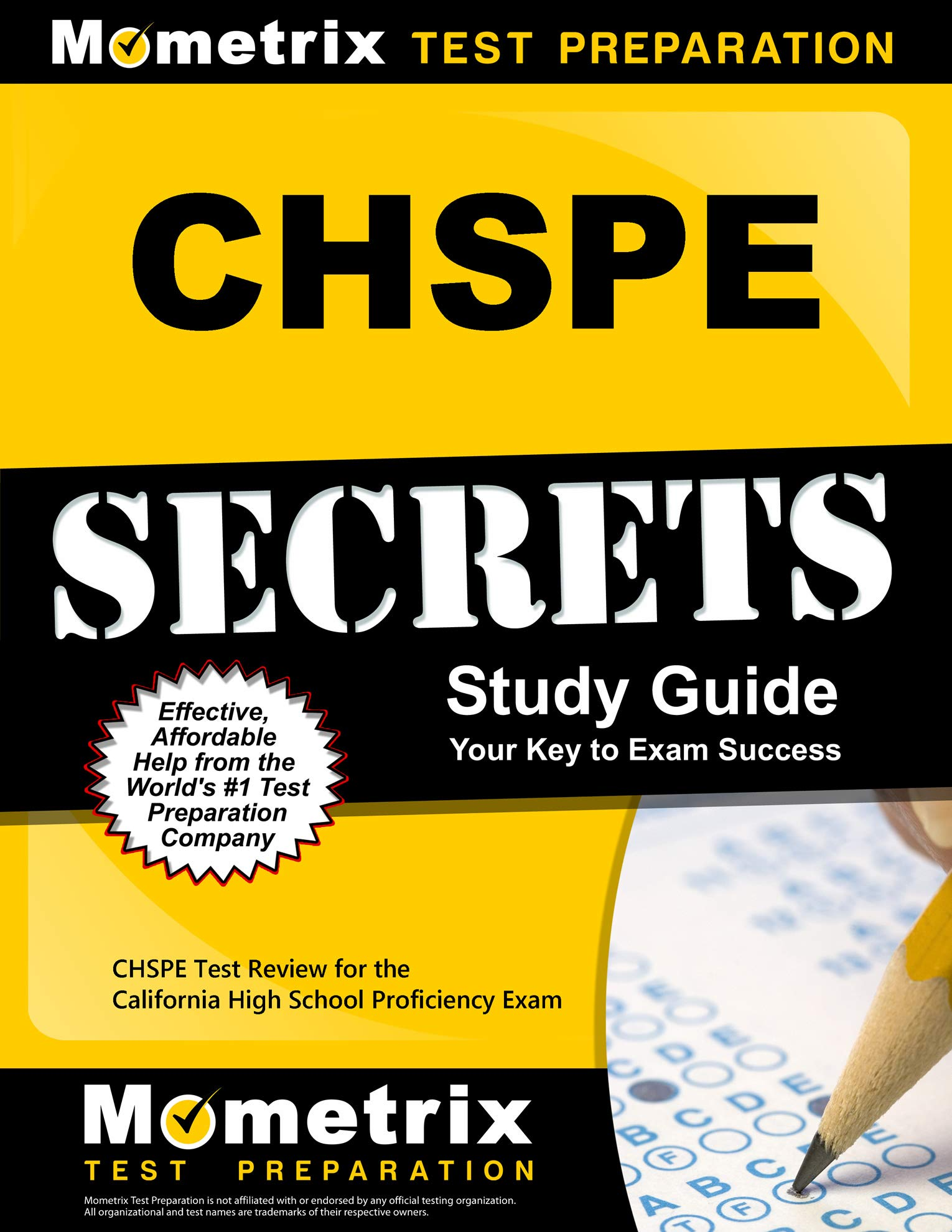 CHSPE Secrets Study Guide: CHSPE Test Review for the California High School Proficiency Exam by Mometrix Media LLC