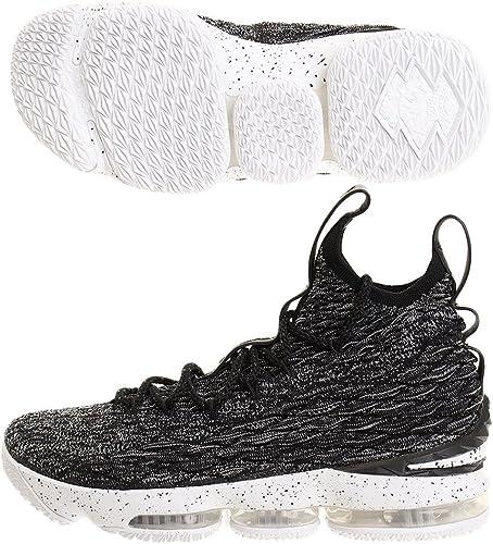 Nike Men's Lebron XV EP, BLACK/WHITE