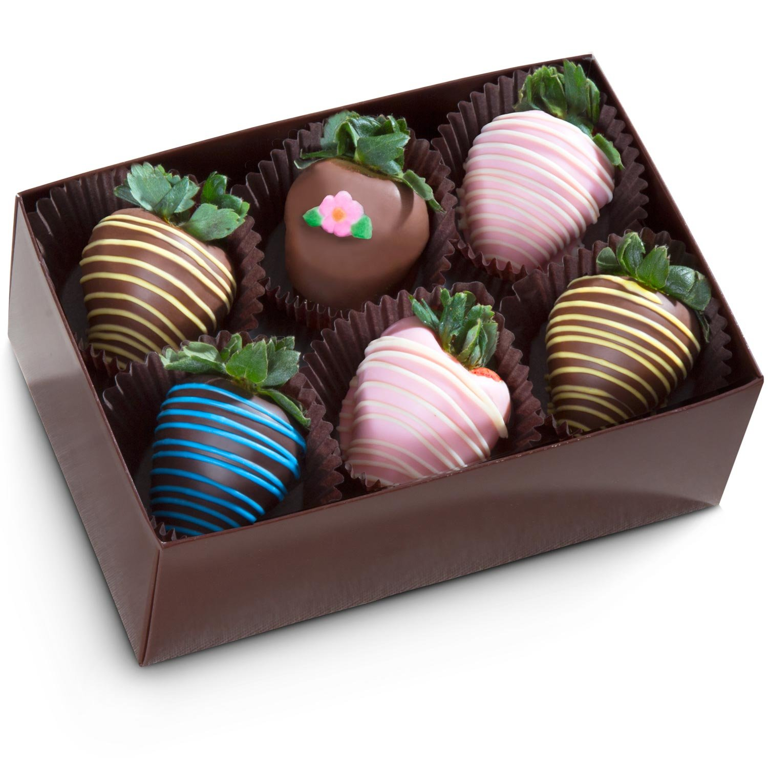 Golden State Fruit 6 Piece Chocolate Covered Strawberries by Golden State Fruit (Image #2)