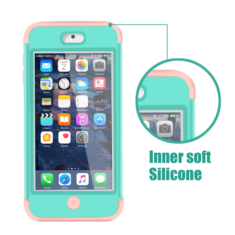 Motif de marbre Dailylux iPod Touch 6 Coque iPod Touch 5 Coque Anti Silicone r/ésistant aux Chocs Anti-Impact Housse /Étui de Protection pour Apple iPod Touch 5//6 Generation