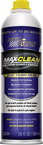 Royal Purple MaxClean Fuel System Cleaner and Stabilizer