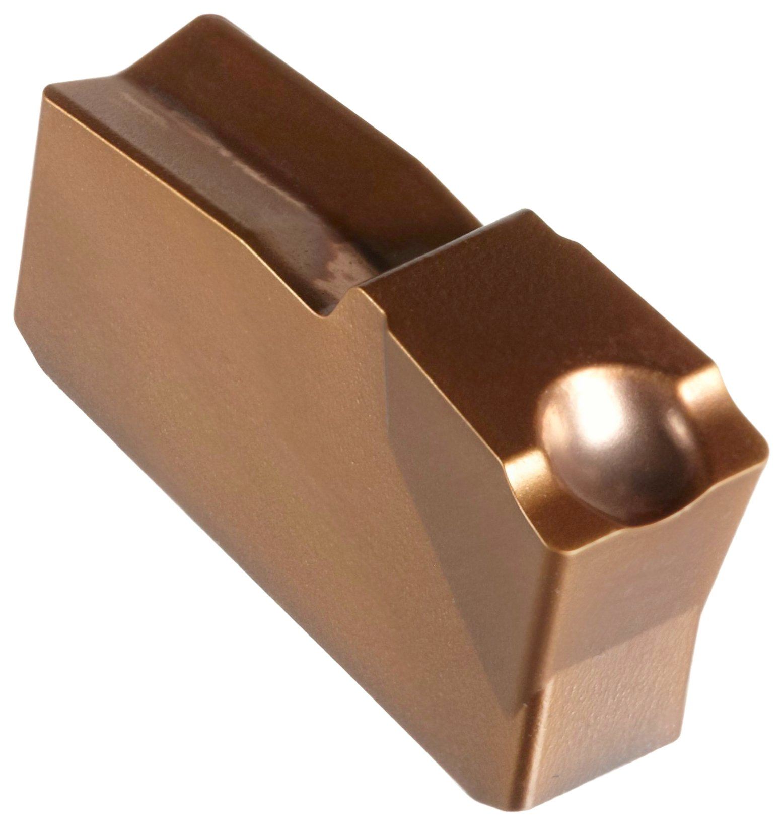 Sandvik Coromant Q-Cut 151.2 Carbide Parting Insert, GC1125 Grade, Multi-Layer Coating, 4E Chipbreaker, 1 Cutting Edge, N151.2-400-4E, 0.0118'' Corner Radius, 40 Insert Seat Size (Pack of 10)