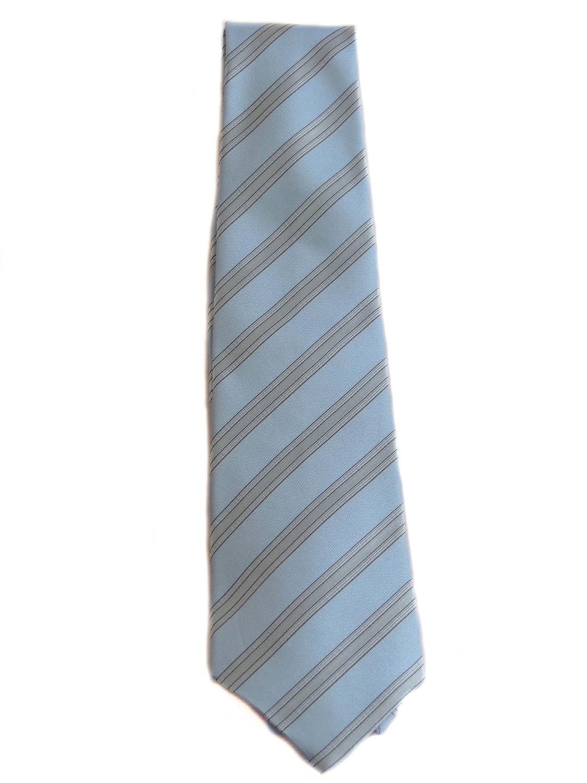 Armani - Corbata - para hombre Turquesa azzurro e grigio chiaro ...