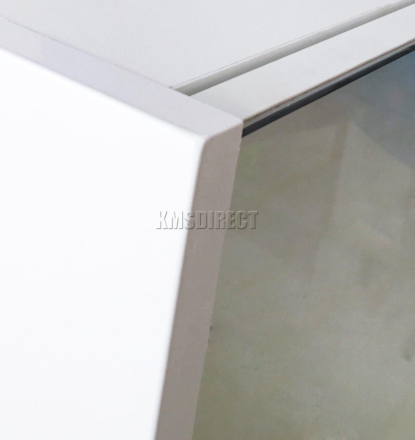WestWood Triple 3 Door Wall Mount Mirror Bathroom Cabinet Unit Storage Cupboard with Shelf White New BC02