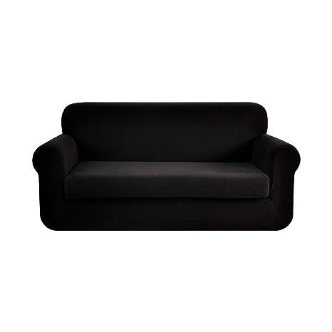 Ebeta Tunez Funda sofá Duplex, Funda de sofá, Tejido Jacquard de poliéster y Elastano, Funda de Clic-clac elástica Cubiertas de sofá de 2 Plaza ...